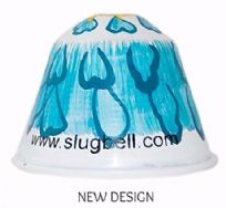 Blue Flower Pot Plant  Slugbell